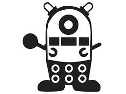 Dr Who Dalek Minion 5 Despicable Me Decal Sticker For Cars Laptops Tablets Skateboard Black Newegg Com
