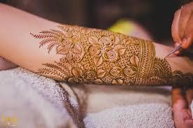Bridal Rose Mehndi Design Images