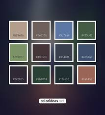 Hillary Gray Dark Sea Green 433538 Color Palette #colors #inspiration  #graphics #design #inspiration… | Brown color palette, Color palette pink,  Beige color palette