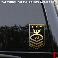 Navy Storekeeper Petty Officer Chief Senior Master Window Patch Decal Sticker Rlgraphics Us Navy Seabees Navy Seabees Us Navy