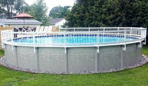 10 Above Ground Pool Fence Ideas Pool Cleaning Hq