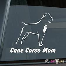 Mister Petlife Cane Corso Sticker Vinyl Auto Window V2 Exterior Accessories Bumper Stickers Decals Magnets