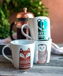 Woodland Foil Vinyl Mug Decals Lia Griffith In 2020 Mugs Diy Mugs Tumbler Cups Diy