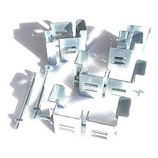 Postfix Slotted Concrete Fence Post Brackets To Fit 4 X 4 Posts 4 Sets Fix Anything To Concrete Posts Just Clamp On No Drilling Buy Products Online With Ubuy