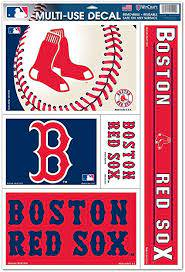Boston Red Sox Official Mlb 11 Inch X 17 Inch Car Window Cling Decal By Wincraft Amazon Ca Sports Outdoors