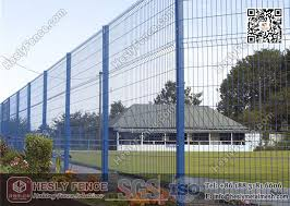 2 0m Height X 2 5m Width Welded Wire Security Mesh Fencing Panels With Green Color Pvc Coated