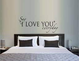 Say I Love You Everyday Vinyl Wall Decal Sticker Home Decor Family Ebay
