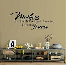 Mothers Hold Their Children S Hands Vinyl Wall Decal Sticker Home Decor Family Ebay