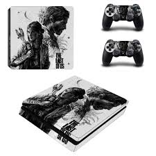 The Last Of Us Ps4 Slim Skin Sticker Decal Vinyl For Playstation 4 Duslshock 4 Console And Controllers Ps4 Slim Skin Sticker Stickers Aliexpress