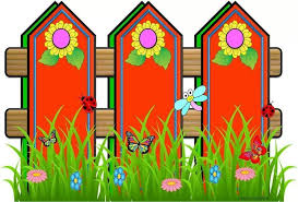 Red Fences Clip Art Borders Disney Photo Frames Boarders And Frames