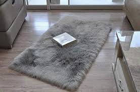 super soft faux fur rug kids carpet