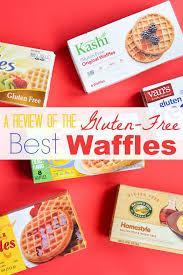 frozen gluten free waffles
