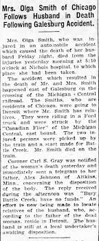 Olga Smith - Battle Creek Enquirer - Mich May 31, 1922 - Newspapers.com