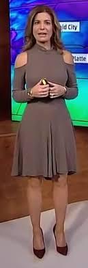 Jen Carfagno - Les jambes, pieds et talons hauts vus à la télé et au cinema