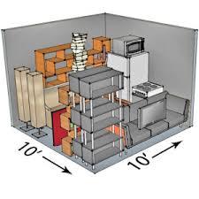 storage unit sizes features climate