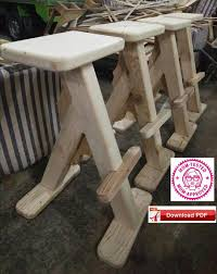 24 inch bar stool plan craft stool plan