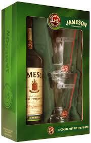 jameson irish whiskey 750ml gift set