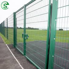 China Home Garden Wrought Iron Security Double Swing Gate 358 Clearvu Fence Gate Chain Link Mesh Gate China Fence Gate Garden Gate