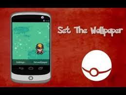 pokémon trainer live wallpaper you