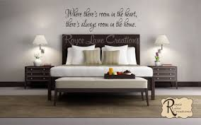 Guest Bedroom Wall Decal Where There S Room In The Heart Etsy Guest Bedroom Decor Guest Room Decor Guest Bedroom