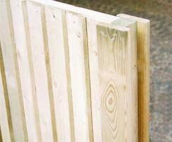 Jakposts Slotted Timber Posts For Panel Fencing Jacksons Fencing Esi External Works