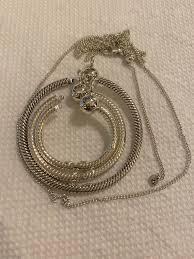 pandora pendant moments small o pendant