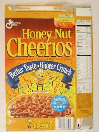 cereal box honey nut cheerios