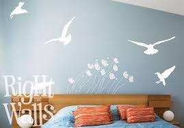 Seagull Birds Beach Wall Decals Vinyl Art Stickers