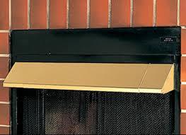 heat deflectors vented vent free hoods