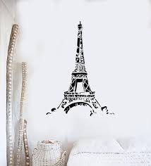 Vinyl Wall Decal Eiffel Tower French Style Europe France Romance Stick Wallstickers4you