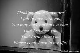 thinking of you messages for him