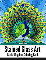 stained glass art birds kingdom