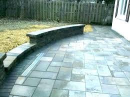 flagstone sealer wet look sealed patio