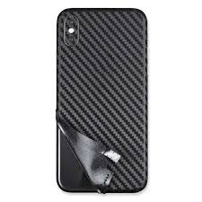 Ultra Thin 3d Carbon Fiber Back Cover Film Sticker For Iphone X Xr Xs Vango Decals