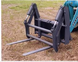 skid steer forks attachments