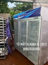 Bán tủ mát 3 cánh Alaska SL-16C3 cũ giá... - Thanh lý bán tủ đông cũ giá rẻ  tại Hoàng Mai Hà Nội