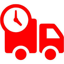 Red delivery icon - Free red delivery icons
