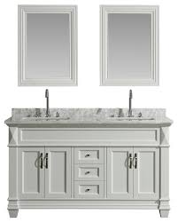 hudson 60 transitional double sink