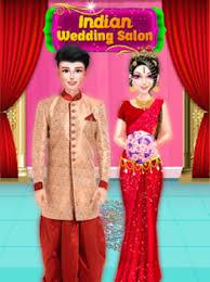 indian wedding makeup and dress up