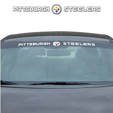 Team Promark Pittsburgh Steelers Windshield Decal In The Exterior Car Accessories Department At Lowes Com