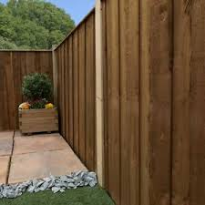 Vertical Hit Miss And Fence Panel Pressure Treated Garden Fencing 6ft 5ft 4ft 3 Ebay