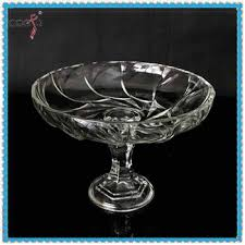 table decorations clear glass bowl