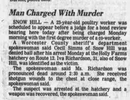 19830531 -- Cecil Simms Charged with Murder in Death of Iva Richardson -  Newspapers.com