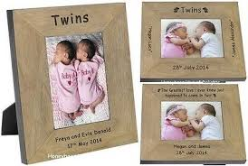 personalised twin es picture photo