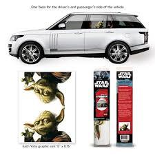 Star Wars Yoda Passenger Series Window Decal 2 Pack