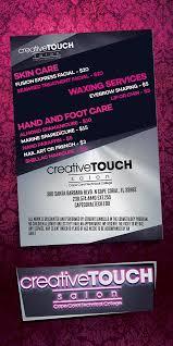 creative touch salon cape c