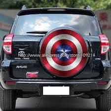 Marvel Avengers Captain America Shield V2 Vinyl Decal Truck Car Sticker Laptop
