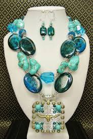 cow bling chunky western jewelry