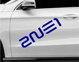 2ne1 Kpop Band Blue 2 Stickers Of 9 Vinyl Decal Sticker For Car Automobile Window Wall Laptop Notebook Etc Any Smooth Surface Such As Windows Bumpers On Galleon Philippines