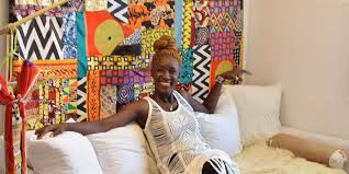 furniture with versatile african prints